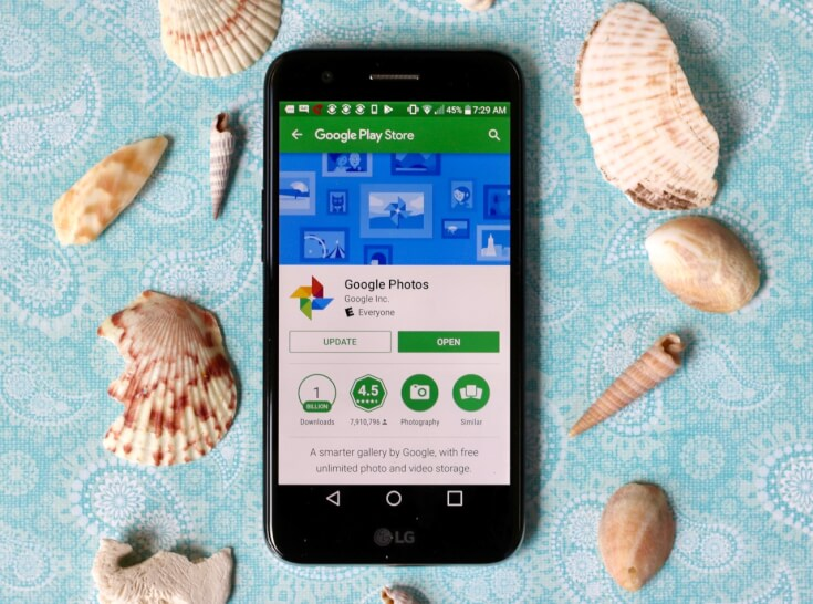 5 FREE Apps for Private Photo Sharing including Google Photos on a WFM LG Grace LTE