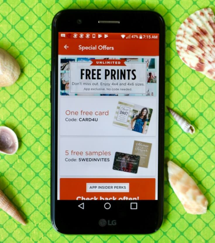 5 FREE Apps for Private Photo Sharing including Shutterfly on a WFM LG Grace LTE