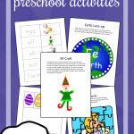 5 Free Preschool Alphabet Letter E Activities