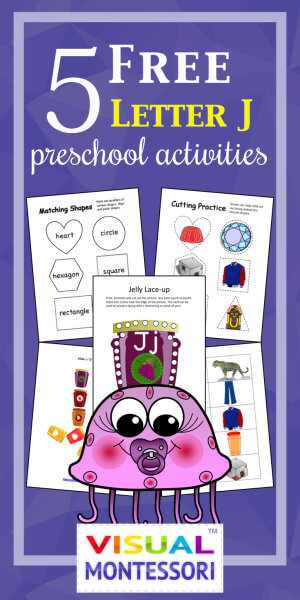 5 Free Preschool Alphabet Letter J Activities
