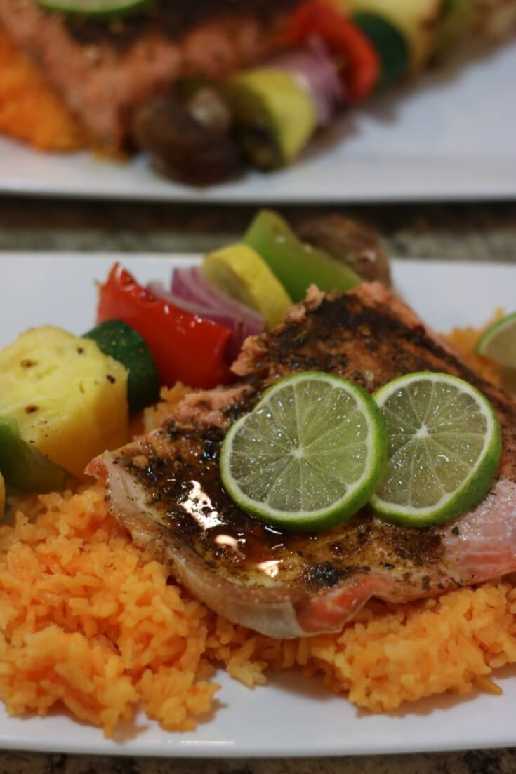 Amazing taste in this Easy Recipe for wild Alaska salmon with Tequila Lime Glaze