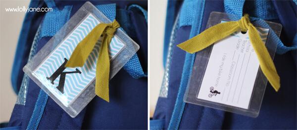 DIY-backpack-tag