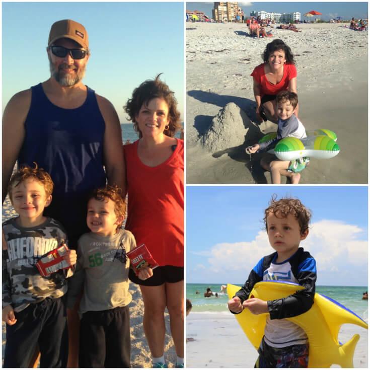 Family Beach time 2017