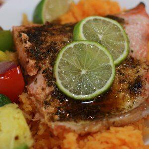 Easy Recipe for wild Alaska salmon with Tequila Lime Glaze