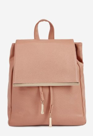 JustFab Pink Backpack