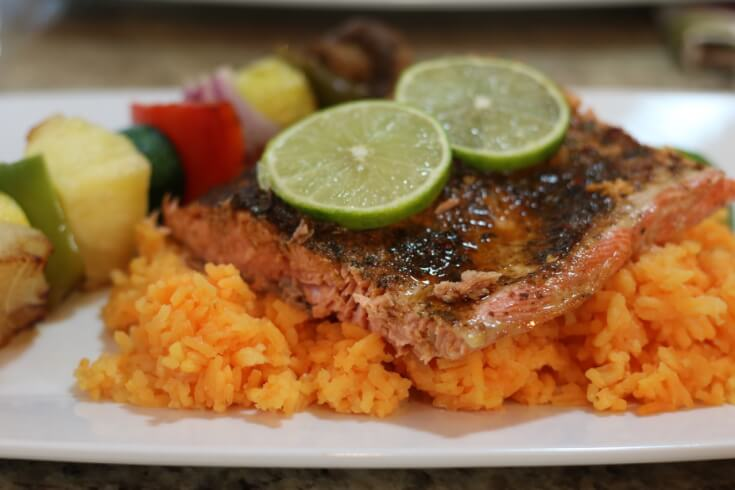 Sensational flavor in this Easy Recipe for wild Alaska salmon with Tequila Lime Glaze