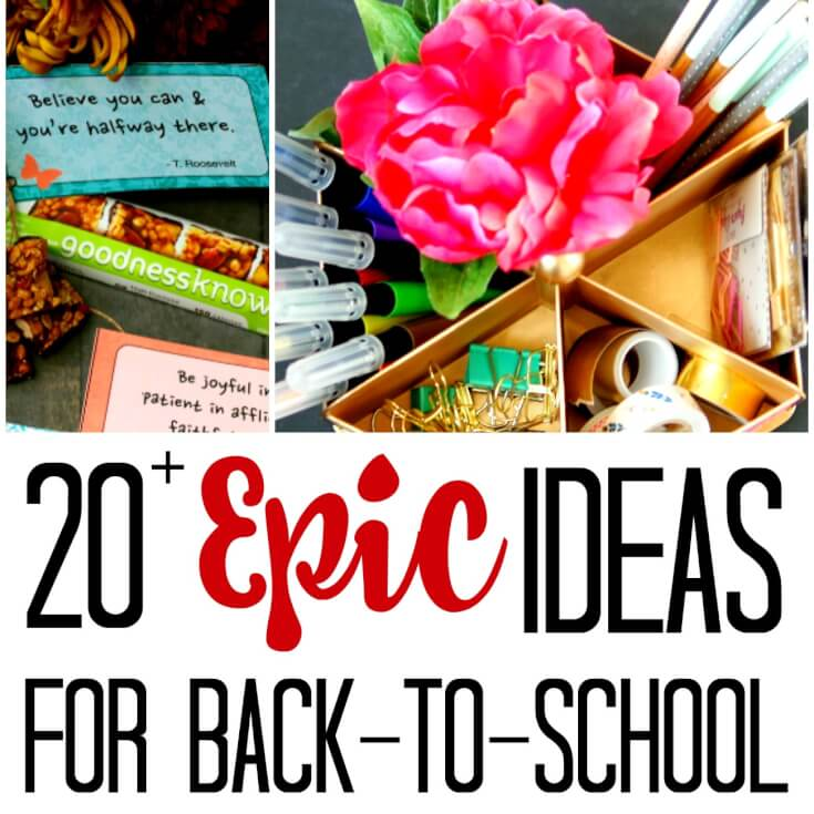 20+ Epic Ideas for Easier Back to School Routines