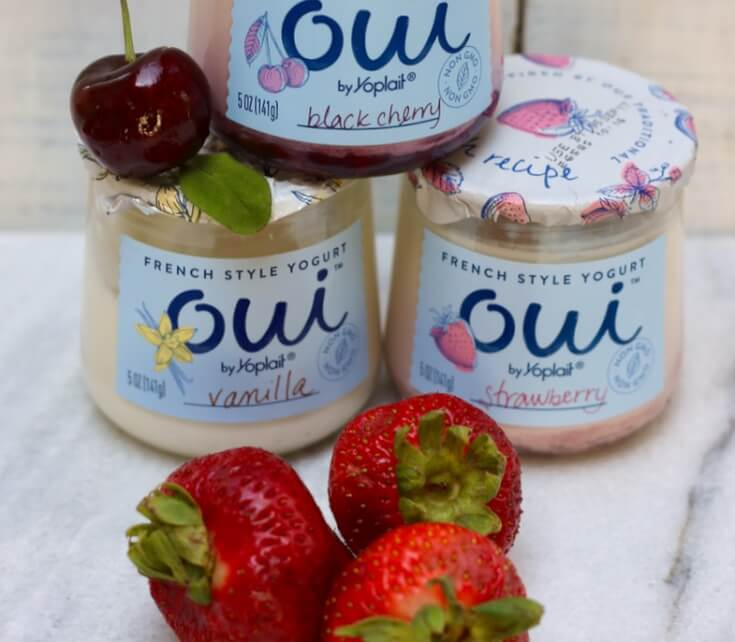 Strawberry OUI is my favorite