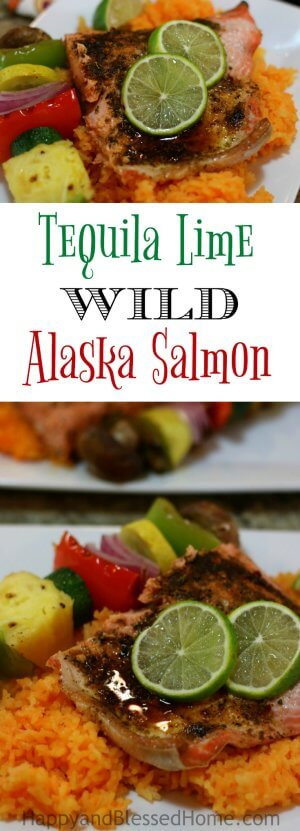 Easy Recipe for Tequila Lime Wild Alaska Salmon