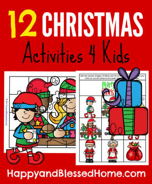 12 Christmas Activities for Kids