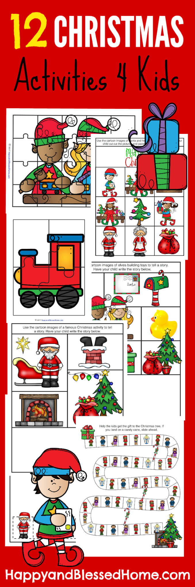 Christmas Kids Activities