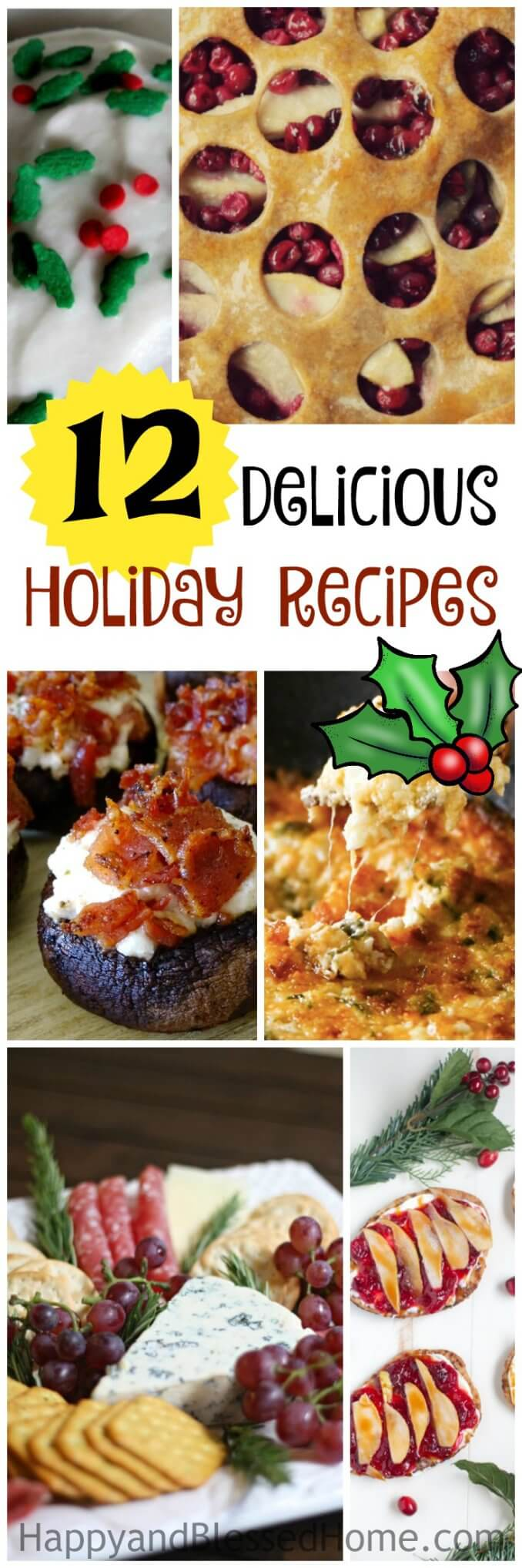 12 Delicious Holiday Recipes
