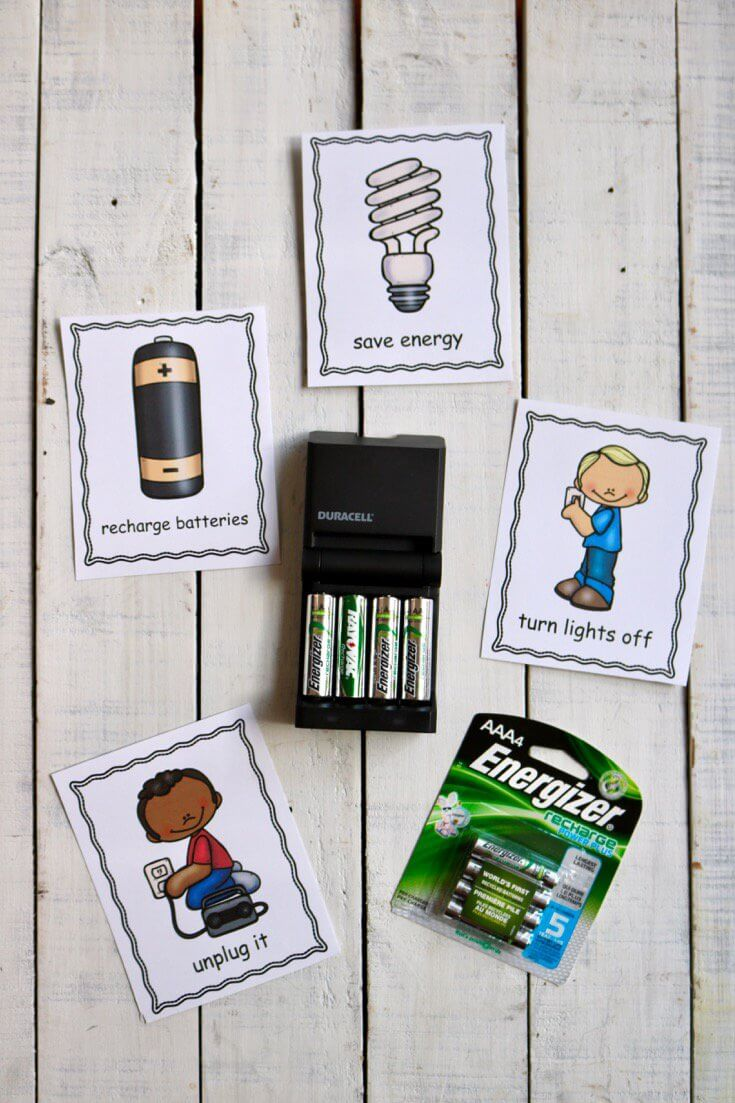 5 Simple Ways to Teach Kids the Importance of Energy Conservation - Rechargable Batteries