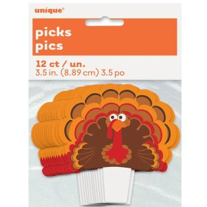 Turkey Cupcake Topper