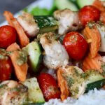 Easy Recipe: Kid Friendly Garlic Ranch Chicken Skewers