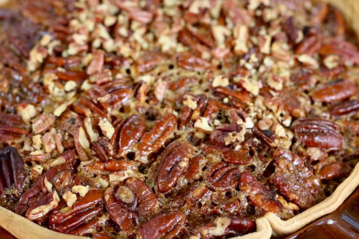 Fresh Pecans make for the best Southern Pecan Pie