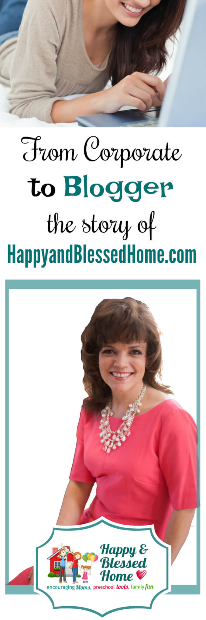 From Corporate Executive to Blogger - How HappyandBlessedHome.com Got It's Name - One woman's journey from suits to a preemie baby.