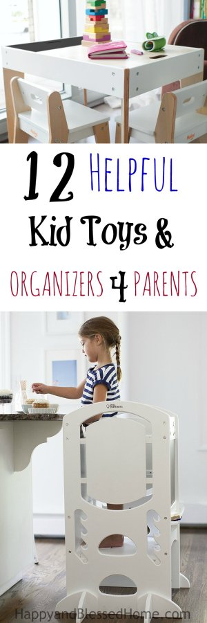 Hallelujah! 12 Helpful Kid Toys and Organizers for Parents