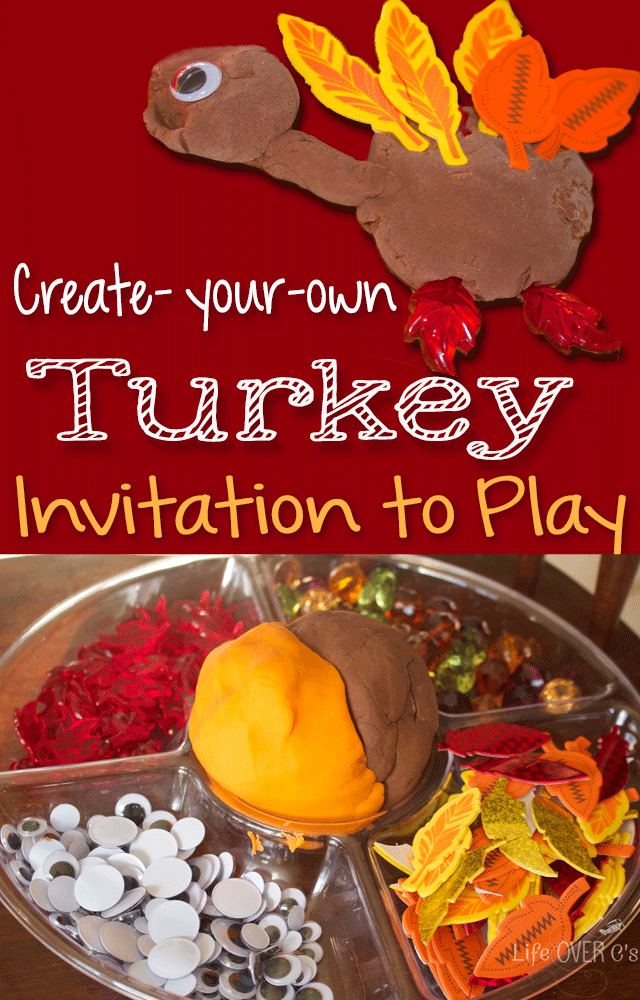 Thanksgiving Kids Activities - thanksgiving-play-dough-pin