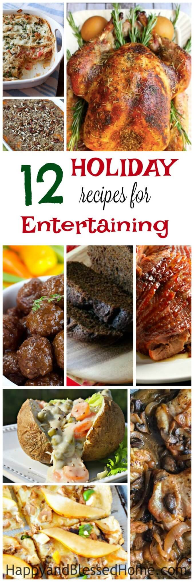 12 Holiday Recipes for Entertaining