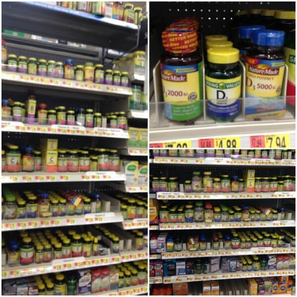Nature Made Vitamins and Supplements at Walmart