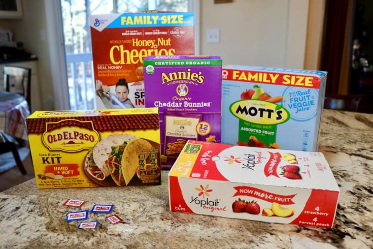 Collect them all - products that support schools through Box Tops for Education