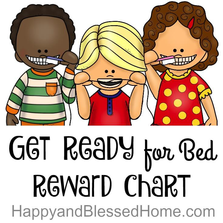 Get Ready for Bed Reward Chart