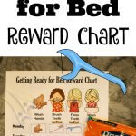 FREE Get Ready for Bed Reward Chart and DenTek® 30 Day Family Floss Challenge