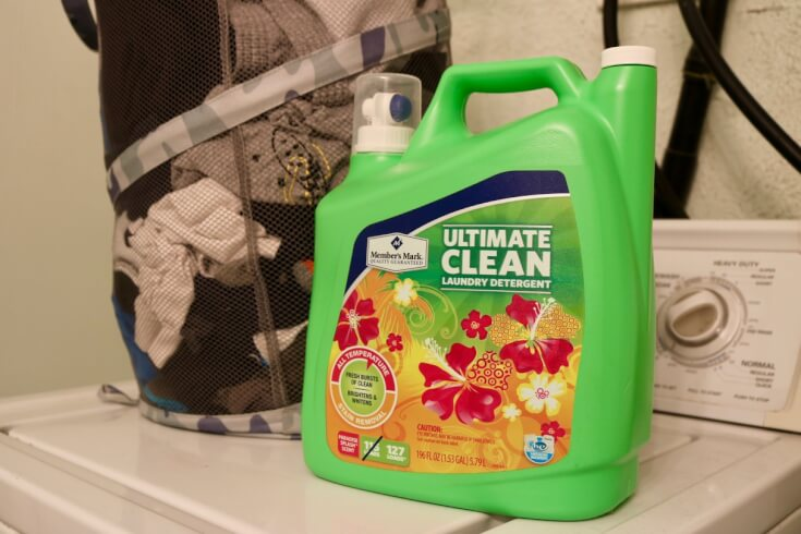Keeping it clean with Member's Mark Laundry Detergent