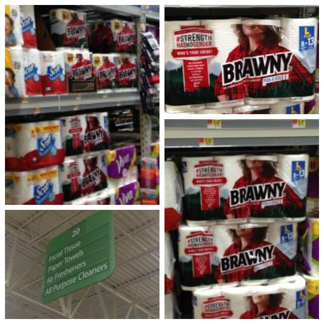 Find Brawny Paper Towels at Walmart