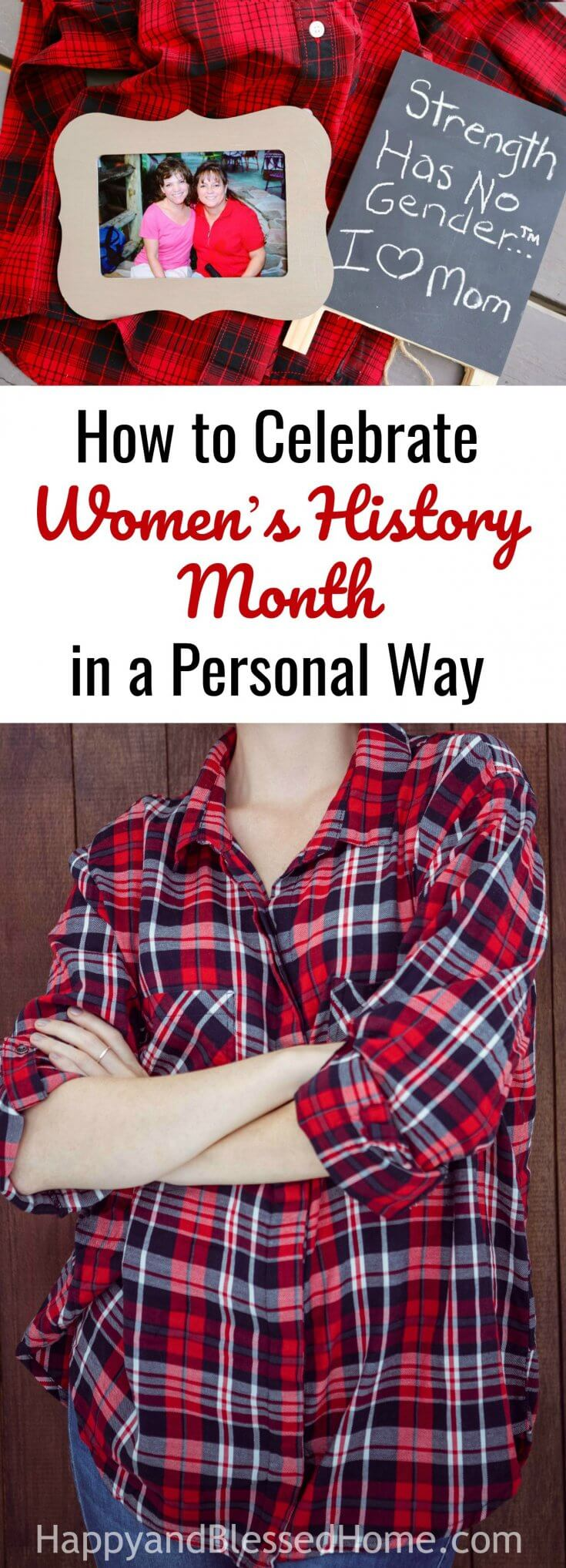 How to Celebrate Women's History Month in a Personal Way and Why my Mom is a SHEro