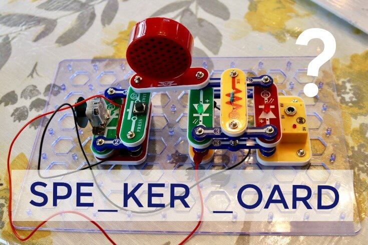 Electric Circuit Speaker Board - the perfect STEM activity for kids