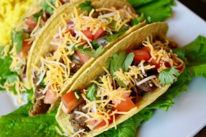 Fresh ingredients make this Grilled Carnitas Tacos Recipe taste delicious
