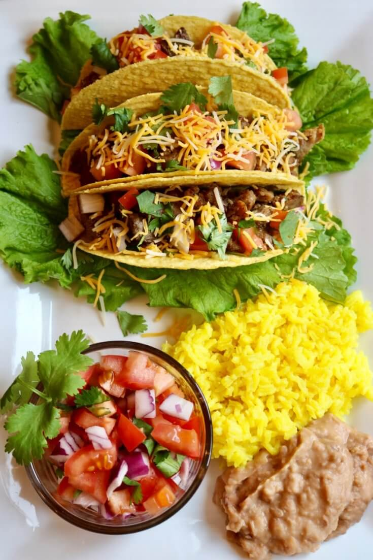 Pair with your favorite Mexican side dishes - Grilled Carnitas Tacos Recipe