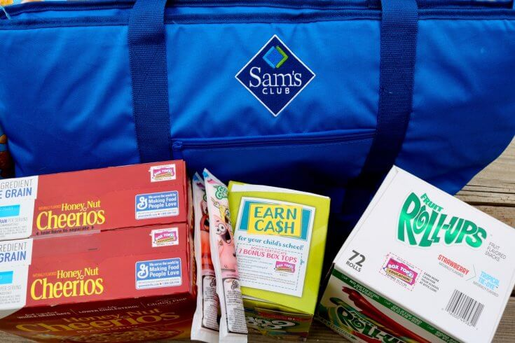 Don't Miss Your Box Tops - How to Raise Money for your Child's School through Box Tops and Sam's Club