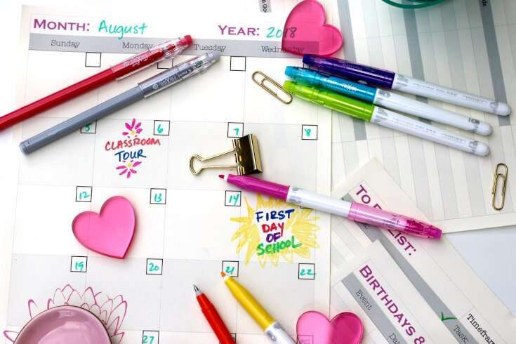 Keep track with this FREE 10 Page School Planner to Help You Get Organized