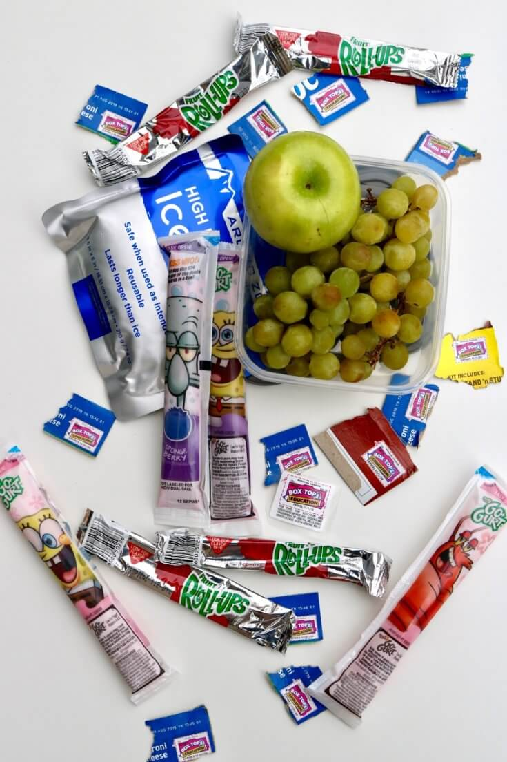 Kid Snacks that Pay you Back - How to Raise Money for your Child's School through Box Tops