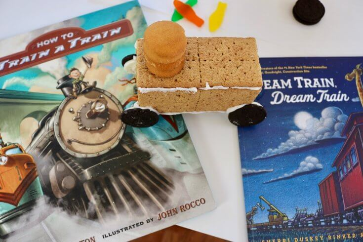 Storybook Inspiration for How to Make a Graham Cracker Cookie Train Recipe