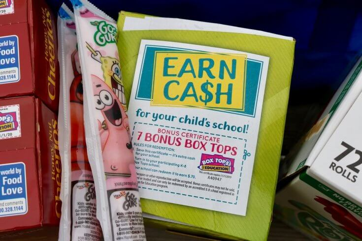 WOOT 8 Box Tops in One - How to Raise Money for your Child's School through Box Tops