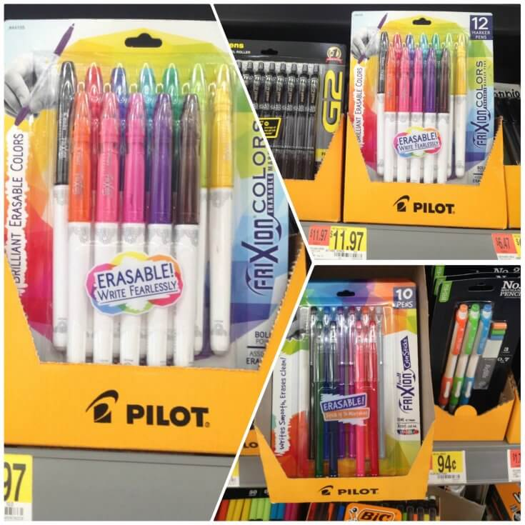 You can find Pilot Pen products at Walmart
