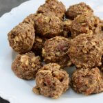 Crunchy Nutty Organic Energy Bites Recipe