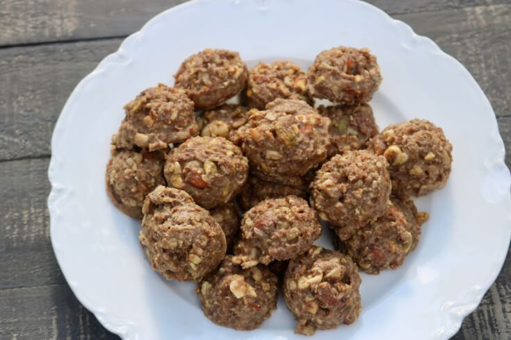 These crunchy nutty organic fat bombs are the perfect snack