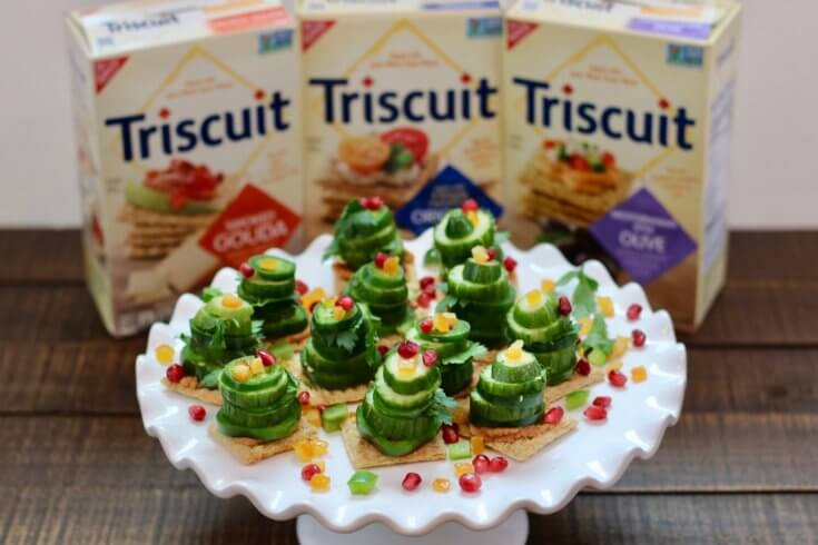 Perfect Holiday Food Vegetable Stack Christmas Trees Recipe